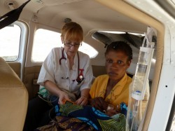 Medical emergency flight