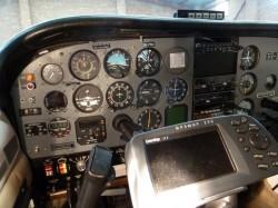 New avionic panel & radios
